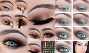 10 step by step makeup tutorials for green eyes
