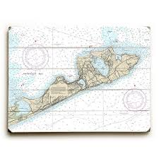 Tide Chart Montauk Ny Longshore Tides Ny Montauk Ny Nautical Chart Sign