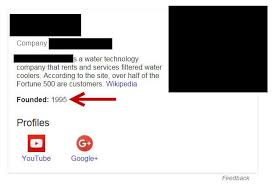 Case study on google docs   Jennifer Lawrence  Katniss Inspired     Year founded not appearing in Knowledge Graph