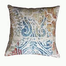 decorative accent pillows. Interesting Pillows ThymeHome Vintage Amber Printed Hand Woven Dhurri Indoor Pillow  100  Cotton Decorative Accent Throughout Pillows E