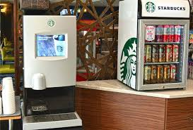 Starbucks Vending Machine Gorgeous Starbucks Coffee Maker Machine Coffee Vending Machines Starbucks