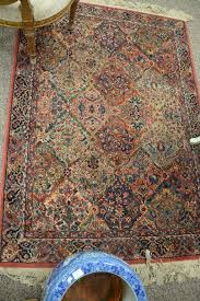two karastan rugs including a runner 2 7 x 8 6 and an area rug 4 4 x 6