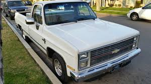 1987 Chevy Truck RV10 Custom Deluxe Scottsdale Silverado - 2nd ...