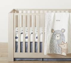 asher bear baby bedding set of 3 in