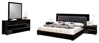 contemporary black bedroom furniture. Delighful Furniture Amazing Of Modern Black Bedroom Furniture Sets Zampco Throughout Contemporary H