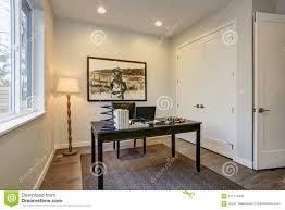 custom home office design stock. Download Modern Home Office Design With Black Wooden Table Stock Photo -  Image Of Architect, Custom Home Office Design Stock O