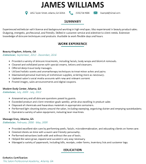 New Esthetician Resume Esthetician Resume Template Best Cover Letter 9