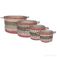 capitol earth rugs capitol earth rugs olive craft spun jute braided round utility baskets 9 capitol