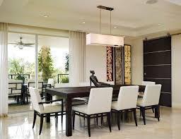 large recessed lighting. Clean Dining Area With Low Profile Recessed Lighting And Large Pendant Light S