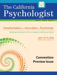 Publications - CP - California Psychological Association