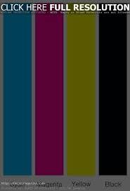 Color Test Page Color Test Sheet Pretty Printer Color Test Page