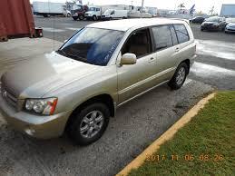 2002 Toyota Highlander Gold #633279