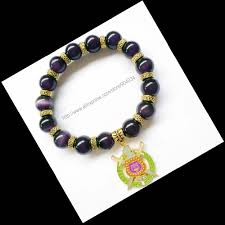 cat eye beads bracelets banglesfor men jewelry omegaa psi phi fraternity rope chain natural stone charm bracelet in charm bracelets from jewelry