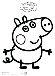 peppa pig printable coloring pages pdf classy idea sheets free