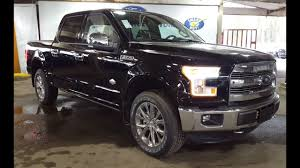 2016 Black Ford F-150 4X4 SuperCrew King Ranch FX4 Review | PG Motors  YouTube