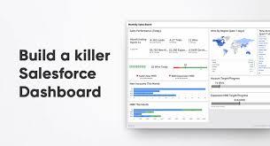 Org Chart Plus Salesforce Salesforce Dashboard Course Klipfolio Com