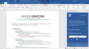 linkedin resume format linkedin just made writing your resume in microsoft word a