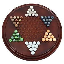 Handmade Wooden Board Games Delectable Handmade Wooden Chinese Checkers Game Set With Glass Marbles Board