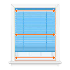 How to measure blinds Overlap Step 1measure The Inside Width Of Your Window Opening In Locations The Top Middle And Bottom If They Vary Record The Smallest Of Your Measurements Blindstercom How To Measure Blindstercom