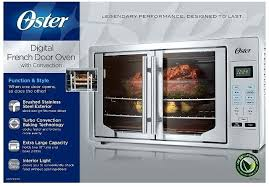 oster french door countertop oven digital french door oven stainless steel extra large toaster oven till oster french door countertop oven