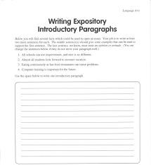 examples of expository essay introduction paraphrasing  expository essay examples