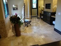 chocolate brown brushed chiseled edge versailles pattern travertine tile