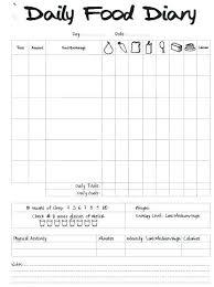 Sample Food Logs Work Journal Template Excel Daily Log Bullet Food Logs