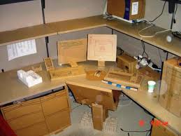 cardboard office. cardboard computer and office equipment o