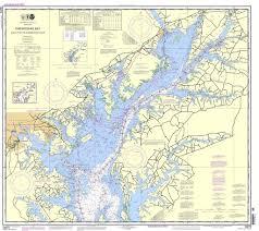 Noaa Nautical Chart 12273 Chesapeake Bay Sandy Point To