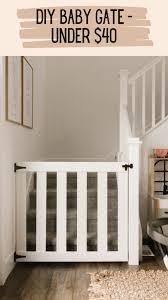diy baby gate for under 40