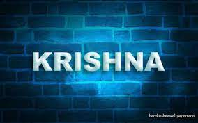 3d Krishna Name Wallpapers - Wallpaper Cave