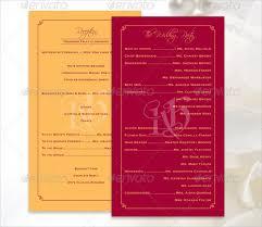 Wedding Ceremony Program Template Free Download Wedding Ceremony Program Designs Radiovkm Tk