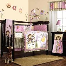 cute baby girl bedding sets pink and gold girls bedding pink and purple jungle safari animals
