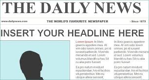 Powerpoint Newspaper Clipping Template Newspaper Template Powerpoint Mytv Pw
