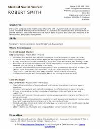 Example Of Social Work Resumes Medical Social Worker Resume Samples Qwikresume