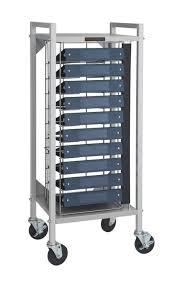 Flatbed Chart Rack 10 Capacity For 1 1 2 And 2 Ringbinders
