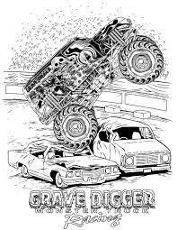 Small Picture Monster Jam coloring pages Kids Pinterest Monster jam