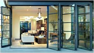 tri fold doors interior tri fold glass doors interior