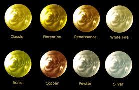 Gold Karat Color Chart Liquid Leaf Colour Chart For Gold Leaf Gilding Information