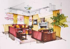 interior design hand drawings. Interior Design Hand Drawings Bedroom Drawing
