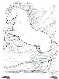 Coloring Pages Horses H Is For Horse Coloring Page Printable Pages