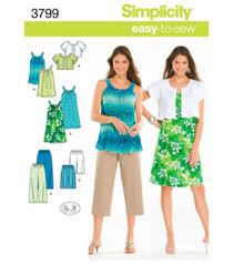 Joann Fabrics Patterns Fascinating Simplicity Pattern 48Misses Juniors Dress TunMLXlXxl JOANN