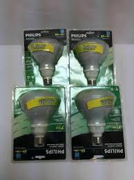 R40 Compact Fluorescent Flood Light Bulbs Lot Of 4 Philips Reflector Flood R40 23w 85w Energy Star Soft White Light Bulbs