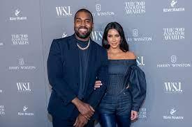 Kim Kardashian en Kanye West ...