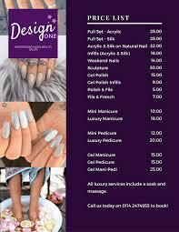 Nail Art Price List - Best Nails Art Ideas