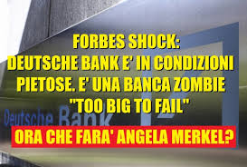 Risultati immagini per crisi banche tedesche