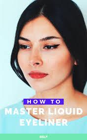 8 ways to make applying liquid eyeliner so much easier
