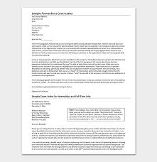 How To Make A Cover Letter For Internship Internship Request Letter How To Write With Format
