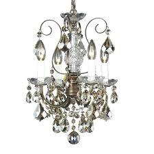 schonbek mini chandeliers new crystal 4 light up lighting mini chandelier rustic chandeliers home depot