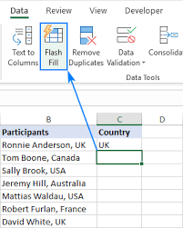 Flash Charts In Excel Flash Fill In Excel 2019 2016 And 2013 With Examples